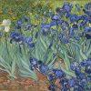 LaquePrint op hout – Irissen – Vincent van Gogh – 26 x 19,5 cm – bestelnummer: LP157